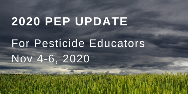 The 2020 PEP Update is for pesticide educators in Montana.