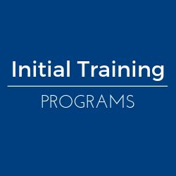 Initial Private Applicator Training Programs