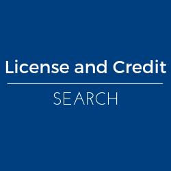 Pesticide License and Credit Search